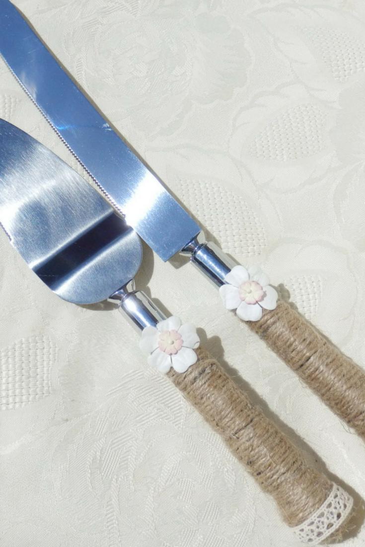 Cake Knife Set - $28