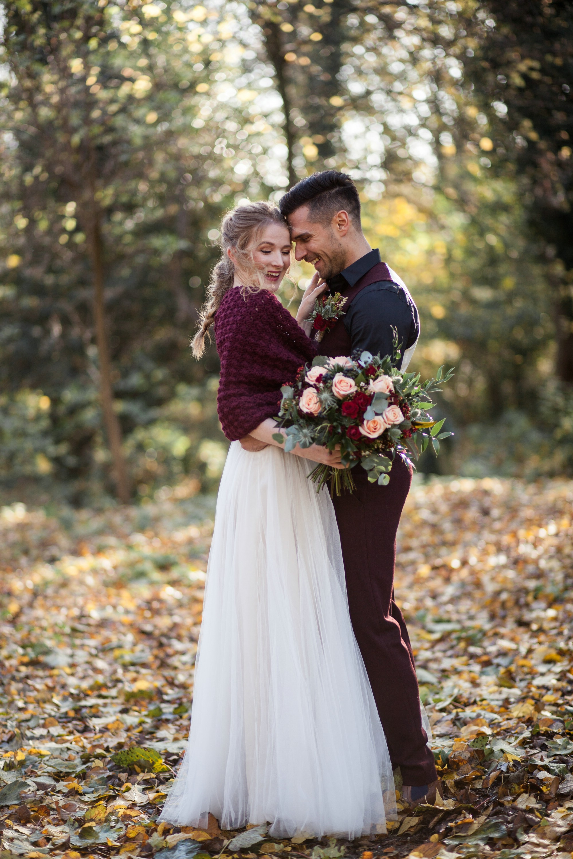 Winter Wedding Bolero Burgundy Shrug Bridal dress Cover up Capelet for brides3.jpg