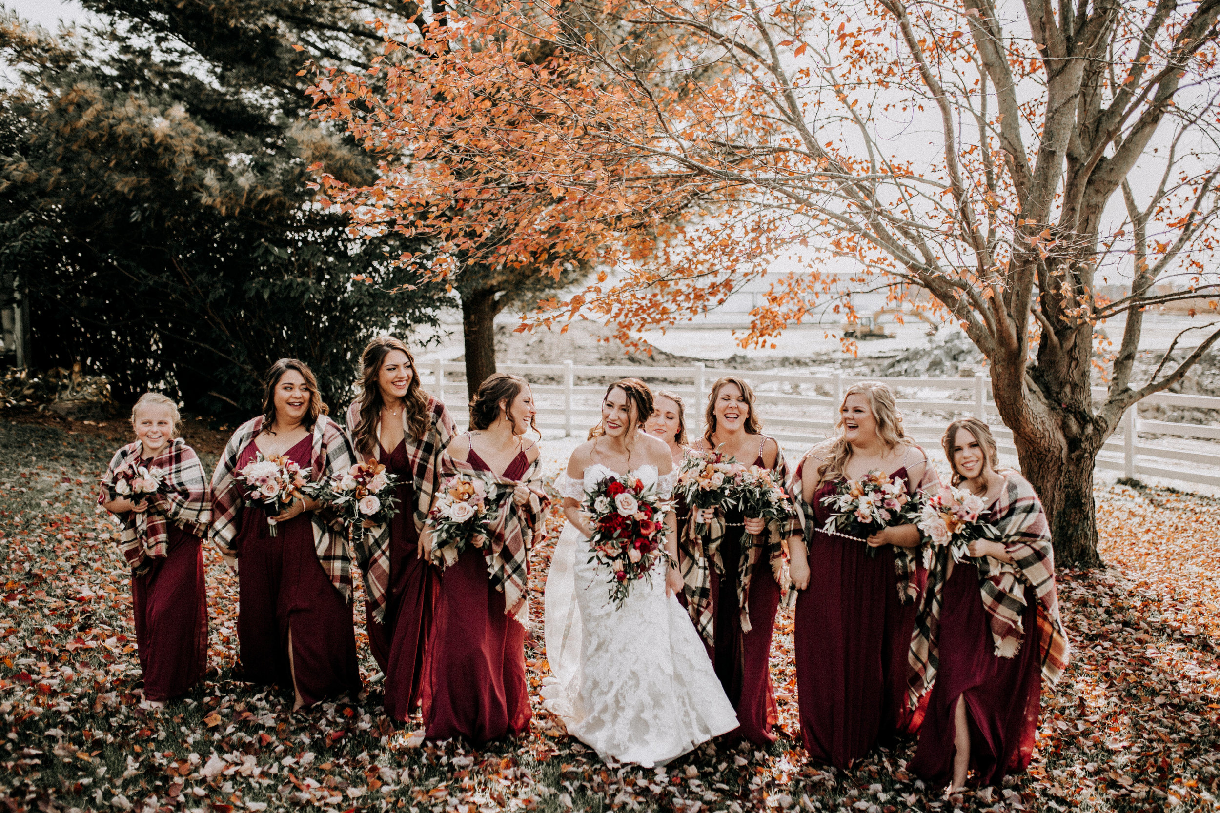 rustic wedding fall colors bridesmaids picture.jpg