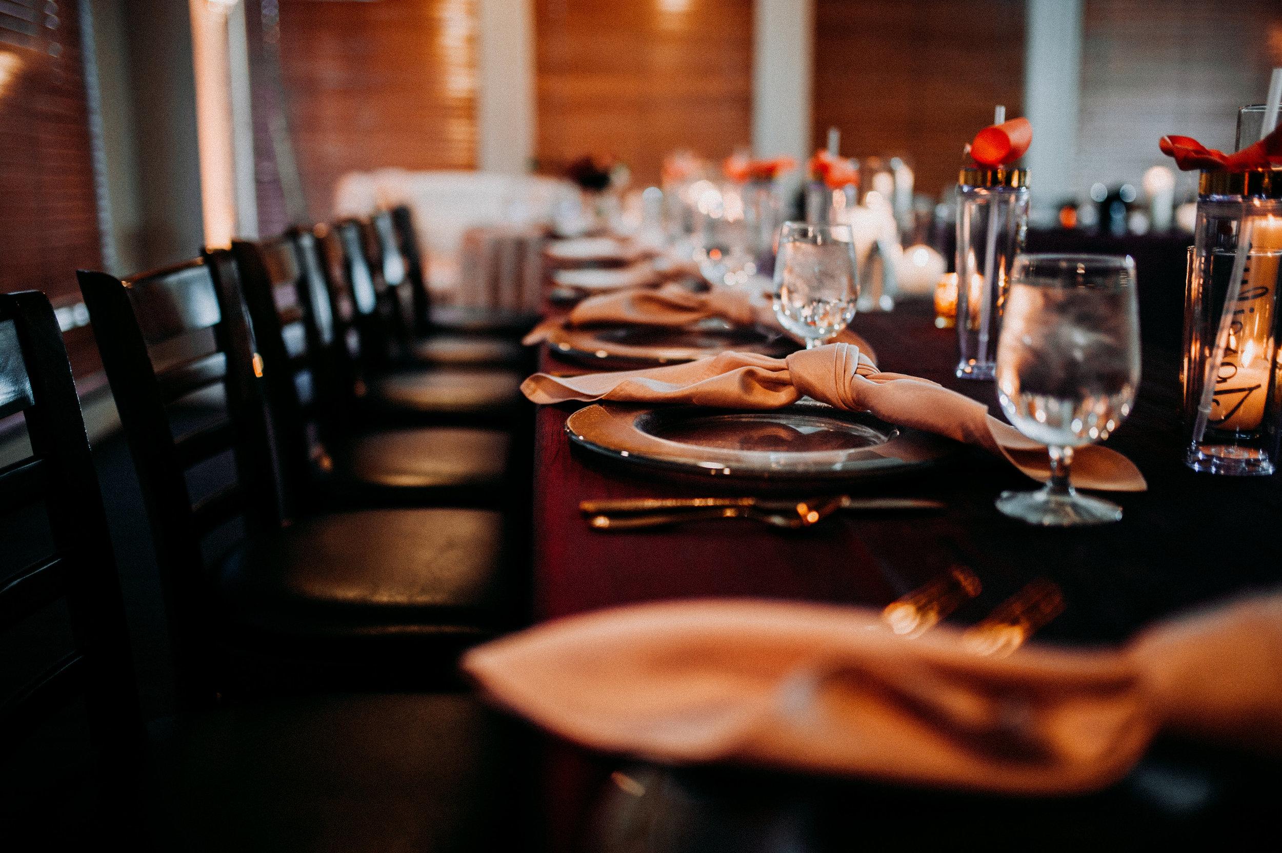 rustic wedding fall colors table arrangement.jpg