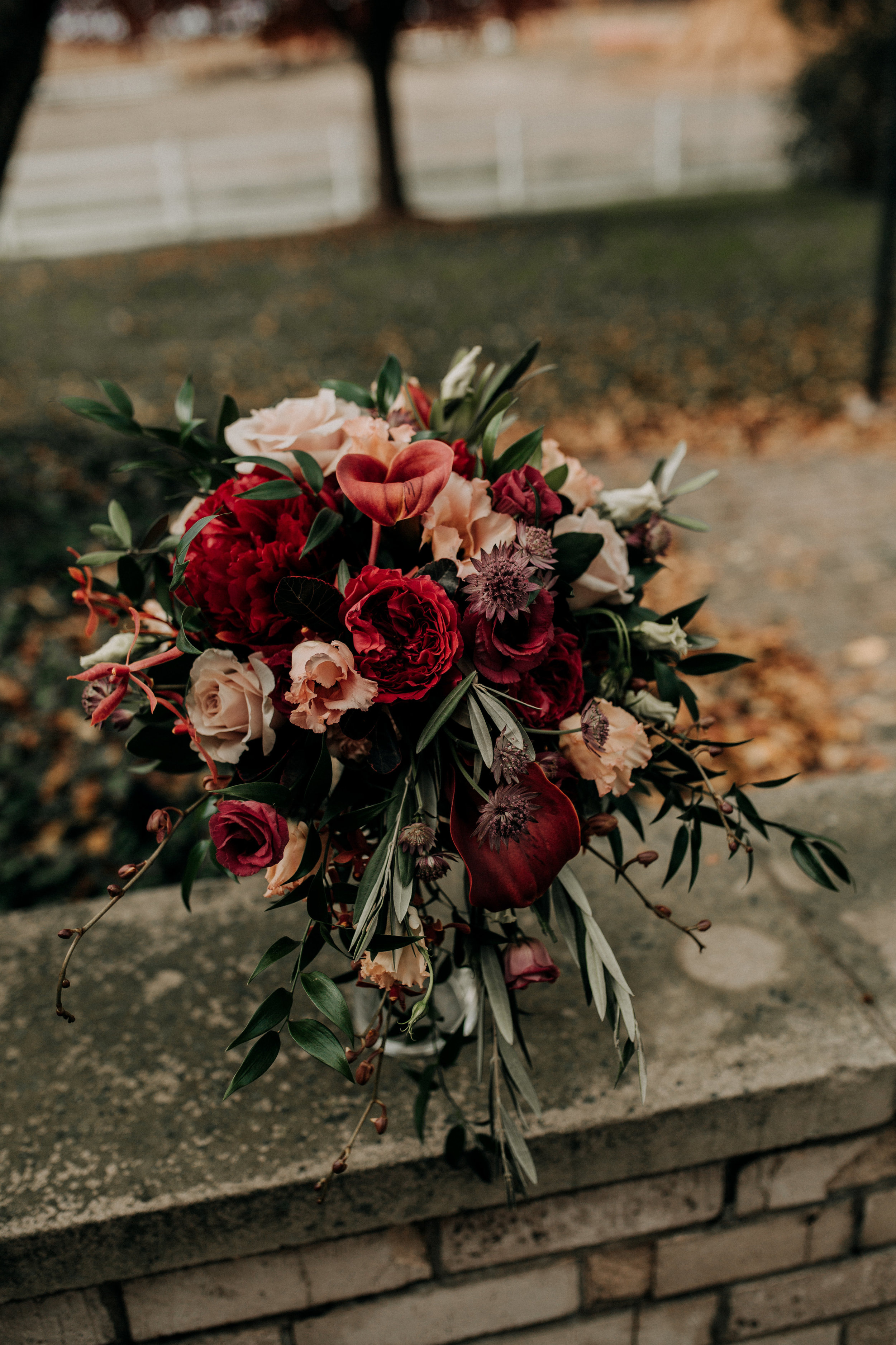 rustic wedding fall colors bridal bouquet.jpg