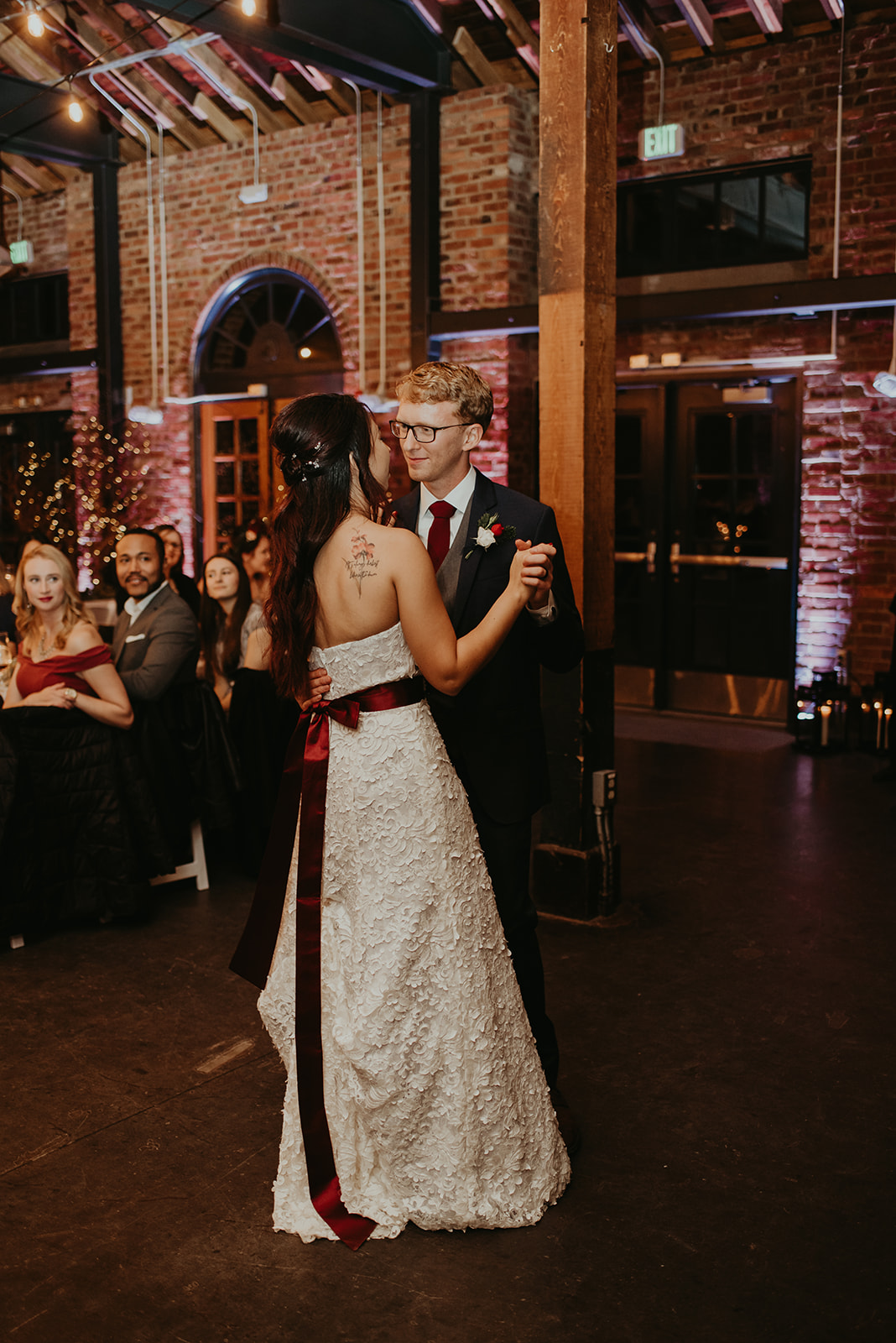 bridal gown burgundy sash.jpg