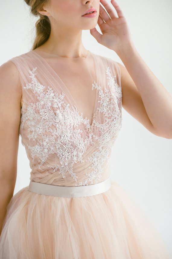 Blush tulle gown, hand embroidered lace top,.jpg