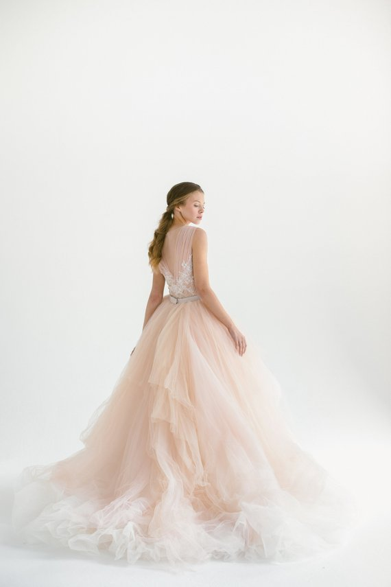 Blush tulle gown, hand embroidered lace top.jpg