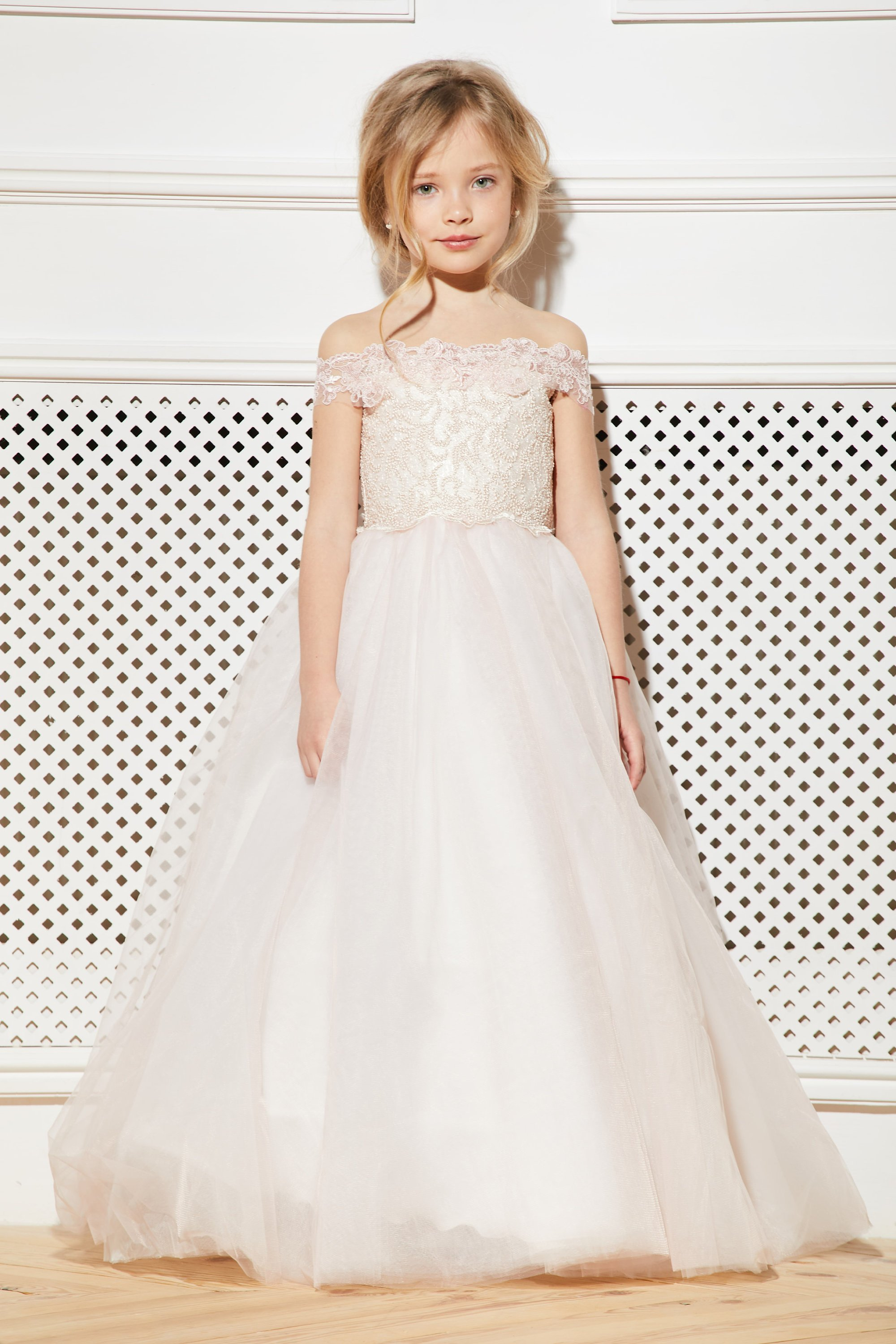 Blush Flower Girl Dress Cream Tulle Rose.jpg