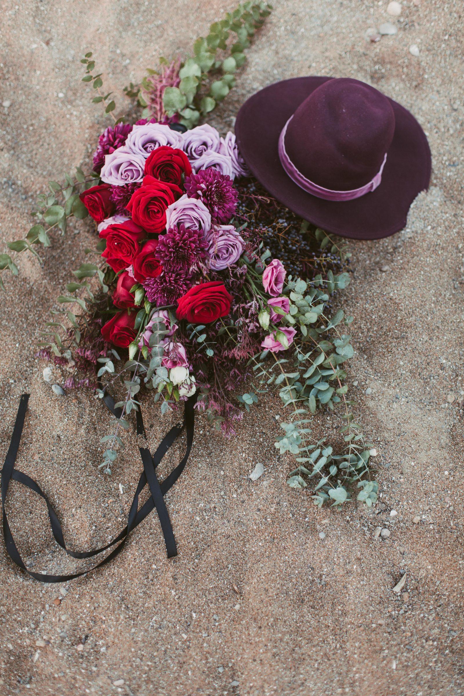 beach wedding bridal bouquet pink purple.jpg