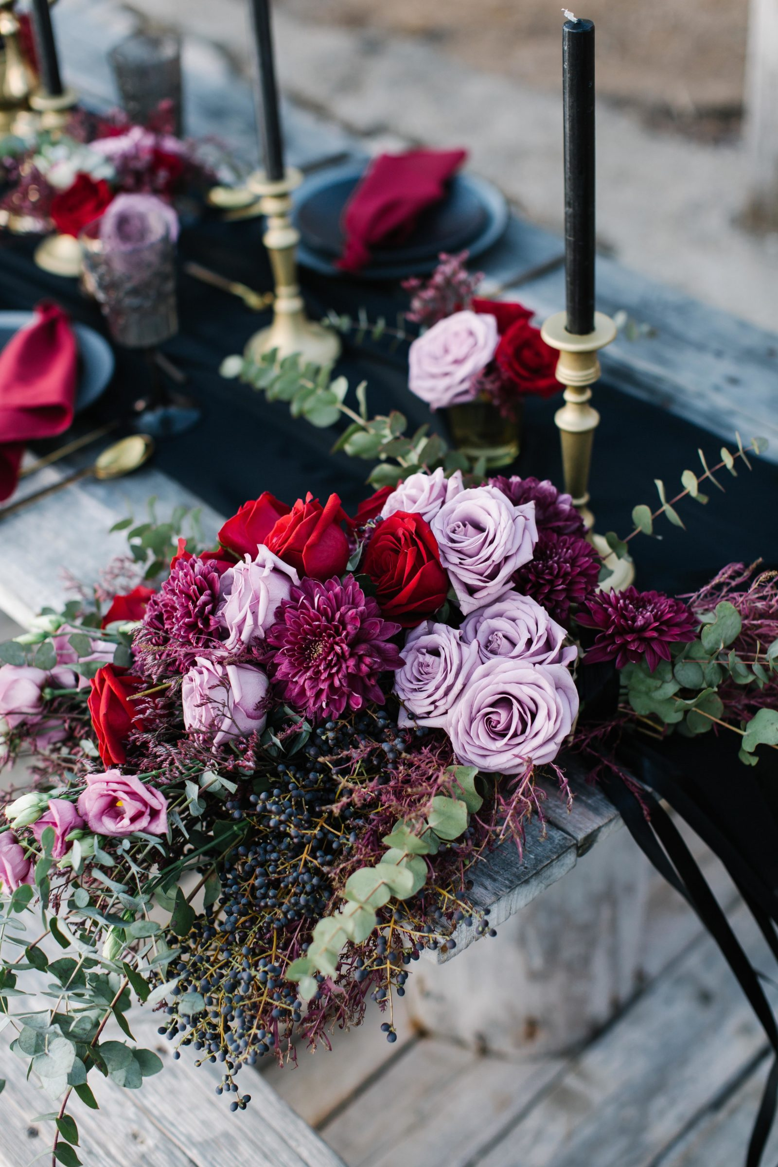 wedding decor red purple.jpg