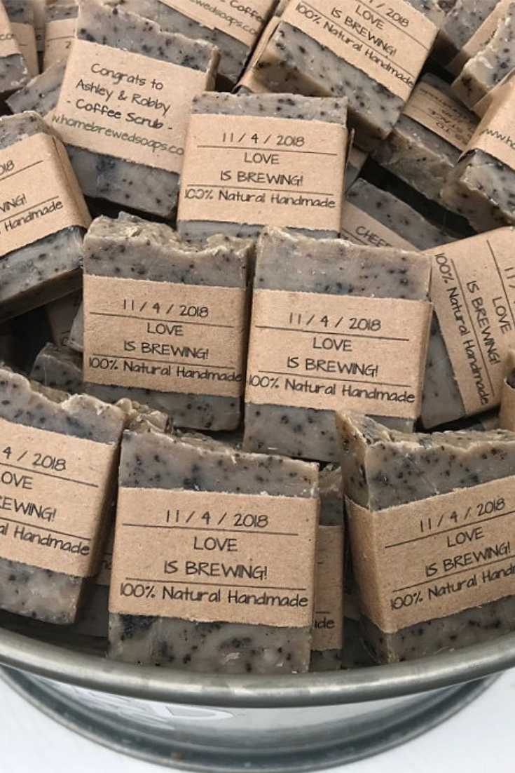 Coffee Soap Wedding Favors, Love is Brewing Soap Favors.png