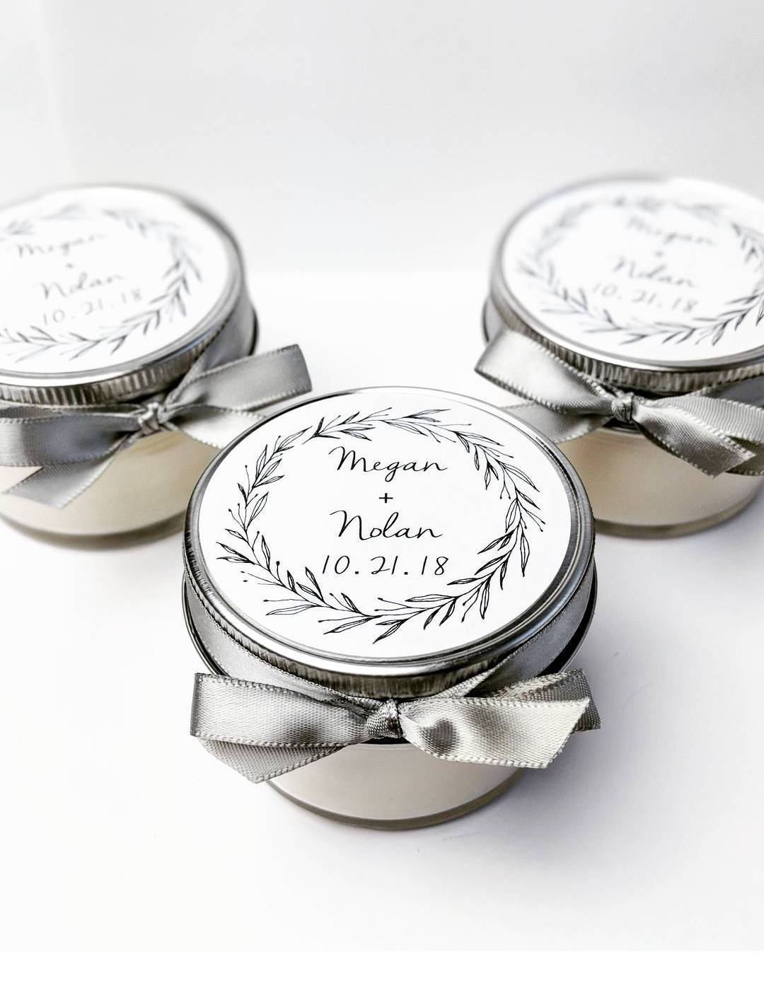 Wedding Favor Candles Mason Jar Favors Bridal Shower.jpg