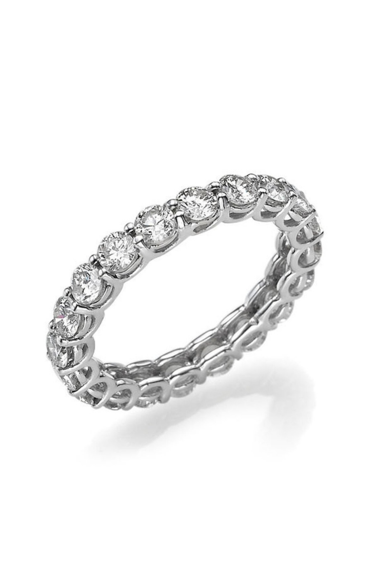 Anniversary Wedding Band, 14K White Gold Wedding Ring, 2.2 TCW Diamond Wedding Band, Eternity Diamond Ring, Gold Wedding BandWomen.png