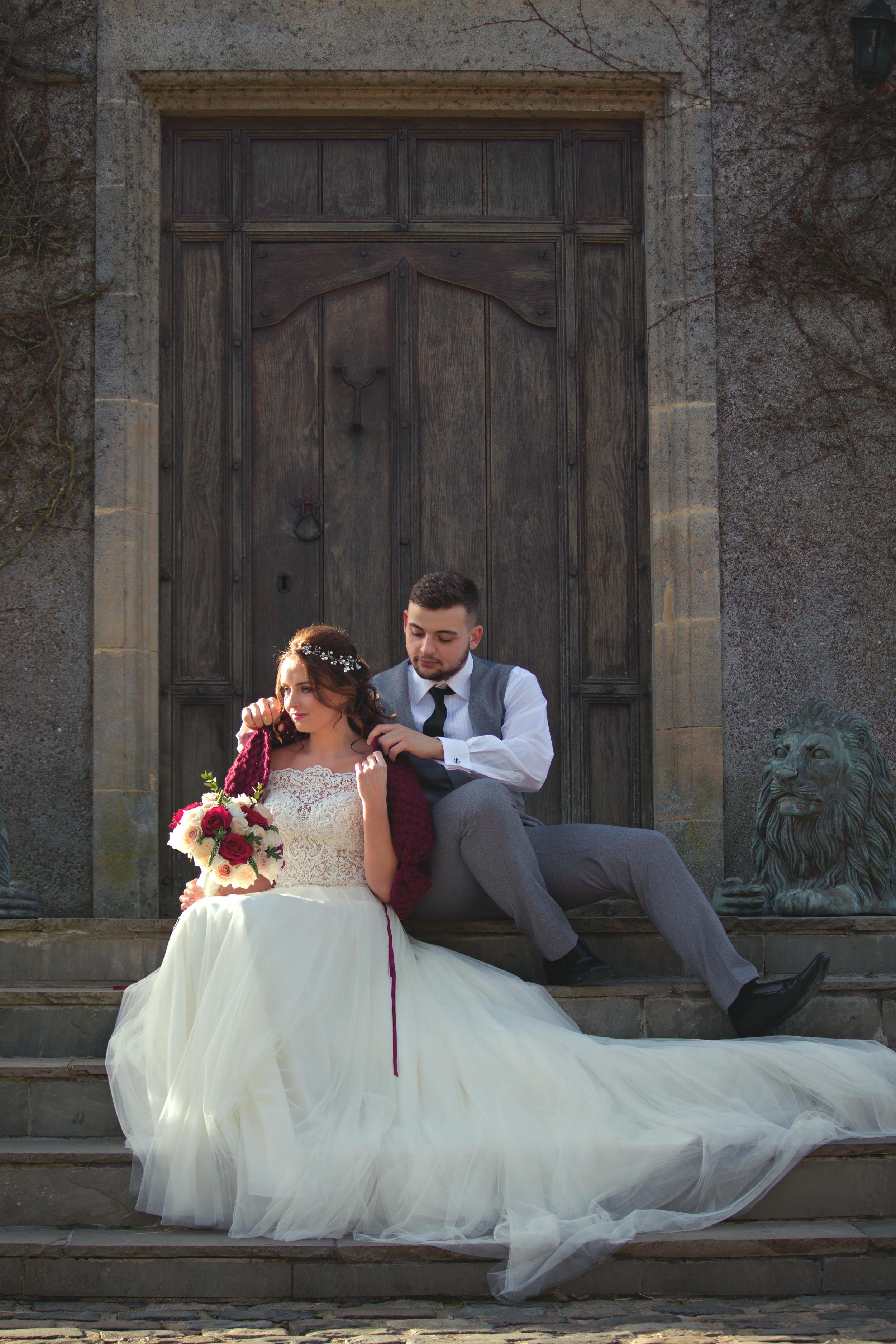 burgundy bridal shawl walton castle wedding inspiration..jpg
