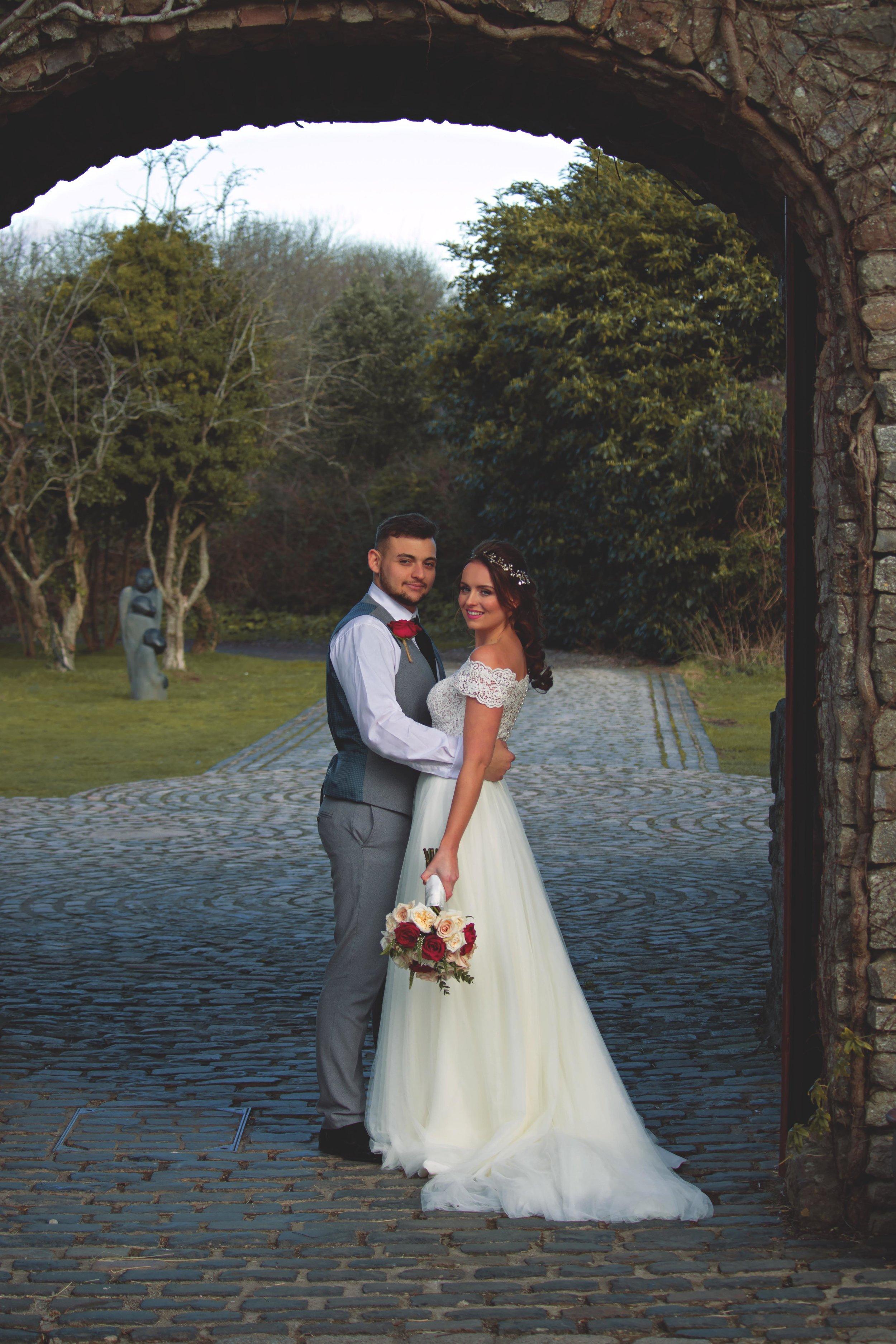 ivory bridal gown Rookery Bridal walton castle wedding,.jpg