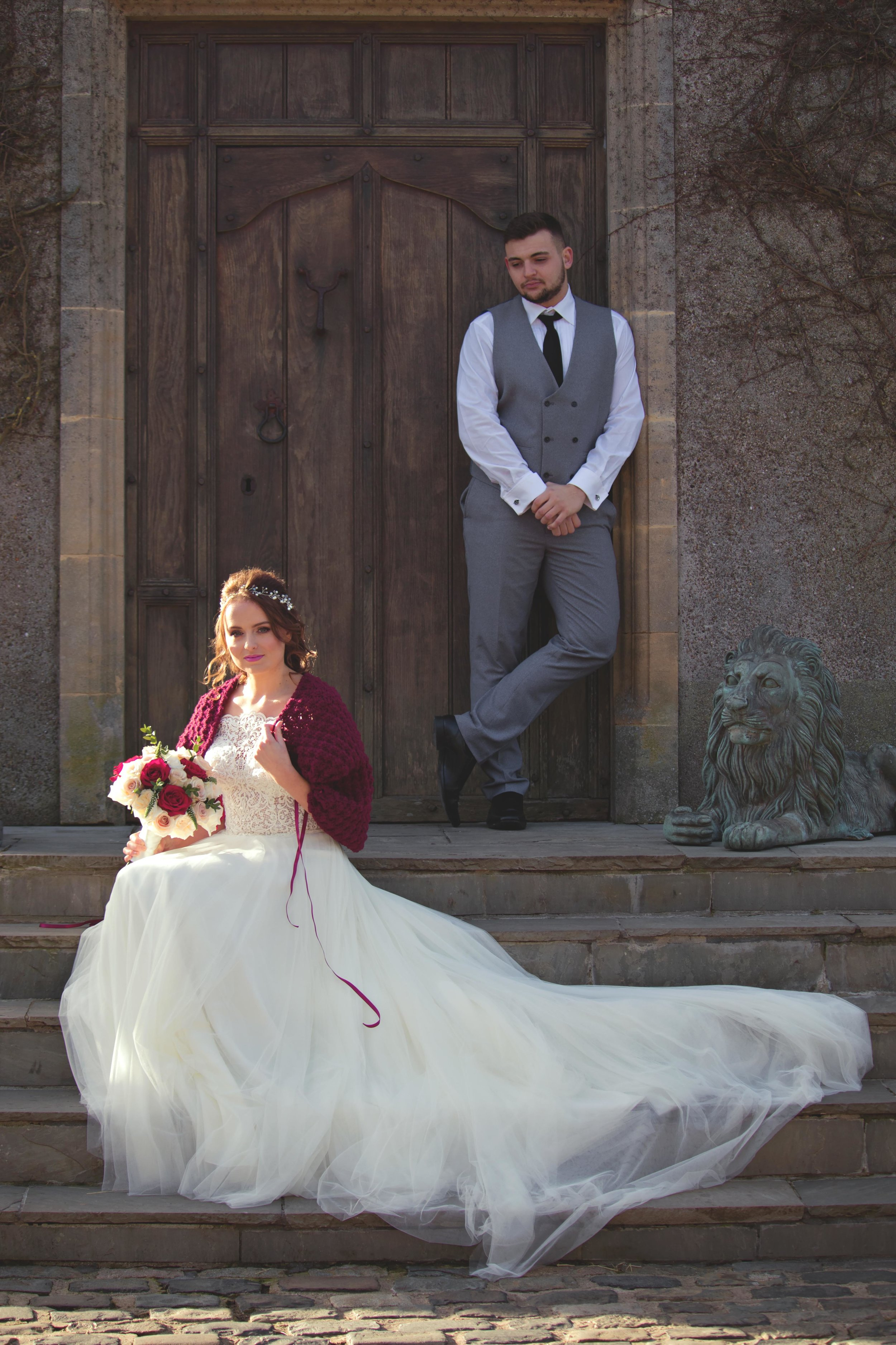 crochet bridal shawl walton castle wedding..jpg