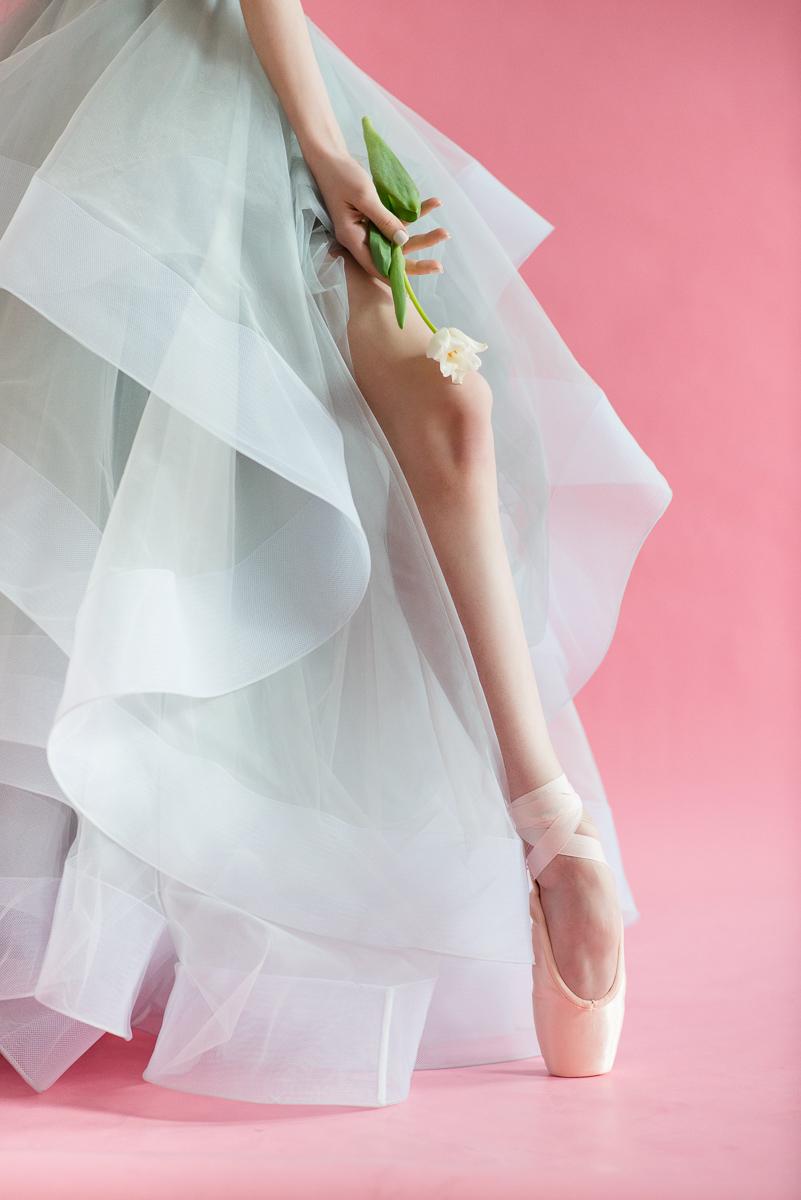 light blue tulle bridal gown milamirabridal