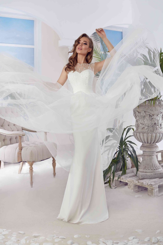 Bridal Dress Alia - Long Wedding Dress - Elegant Wedding Dress - Simple Wedding Dress - Sexy Prom Dress - Awesome Wedding Dress.jpg