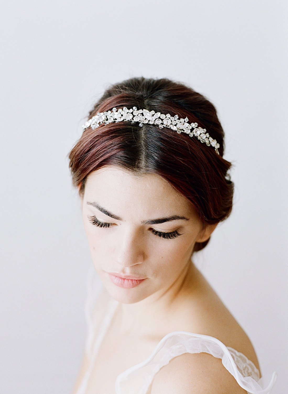 Bridal Headband, Swarovski Crystal Headband, Wedding Headband, Bridal Wedding Headband, Swarovski Crystal Bridal Hair Accessory.jpg
