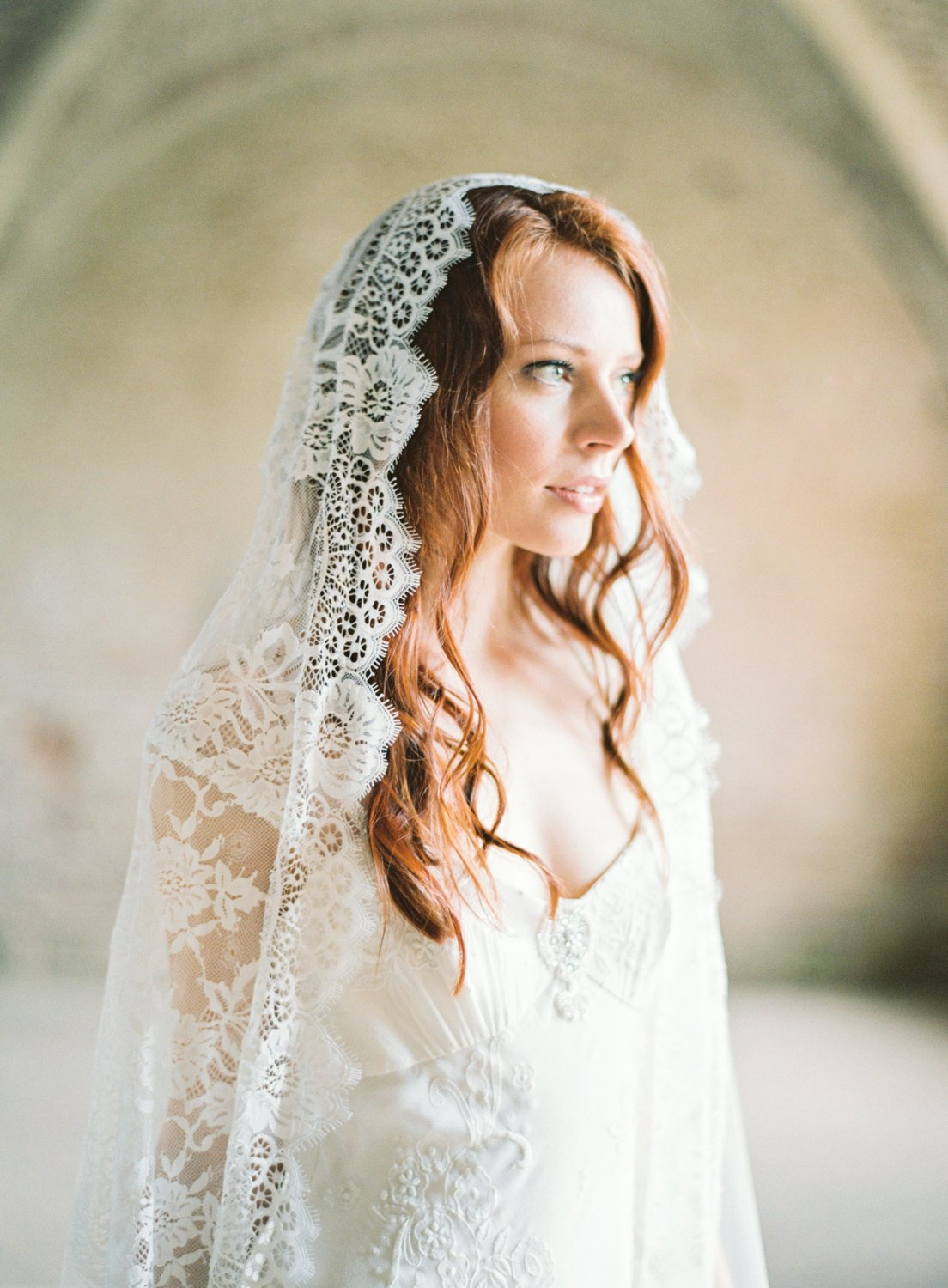 Cathedral Veil, Wedding Veil, Mantilla Veil, Bridal Veil.jpg