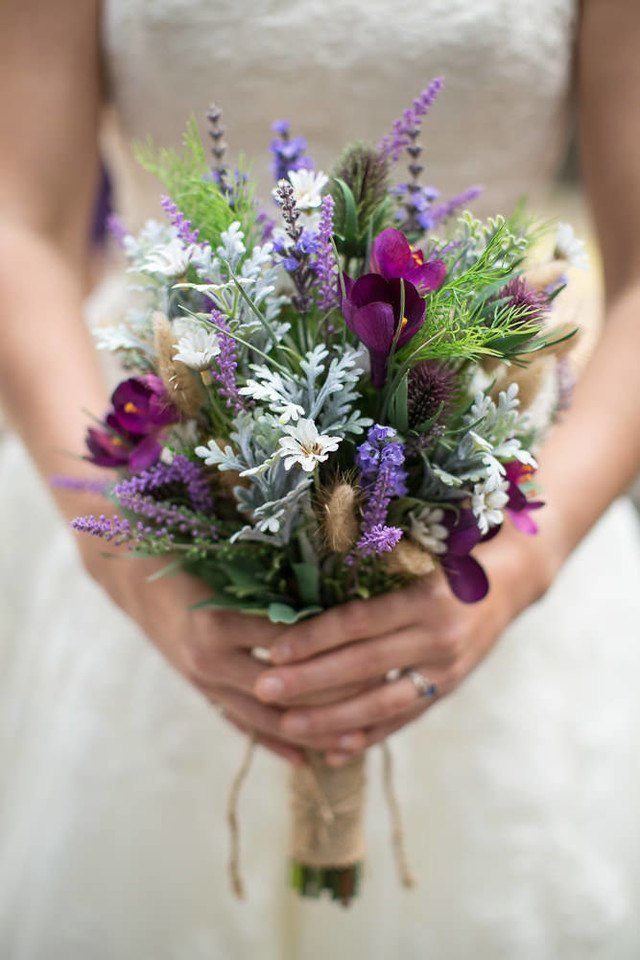 wildflower bouquet, bridal bouquet, wedding flowers, artificial wedding bouquet.jpg
