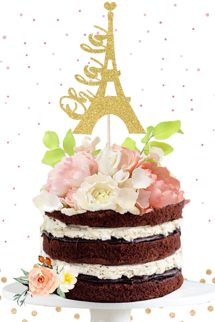 Glitter Eiffel Tower Cake Topper.png