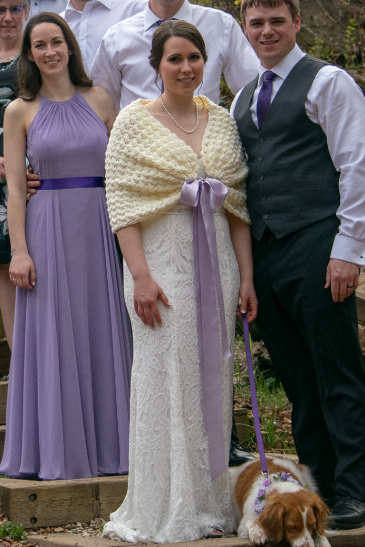 Romantic Elopement at Tin Poppy Retreat in British Columbia knit wedding shawl.png