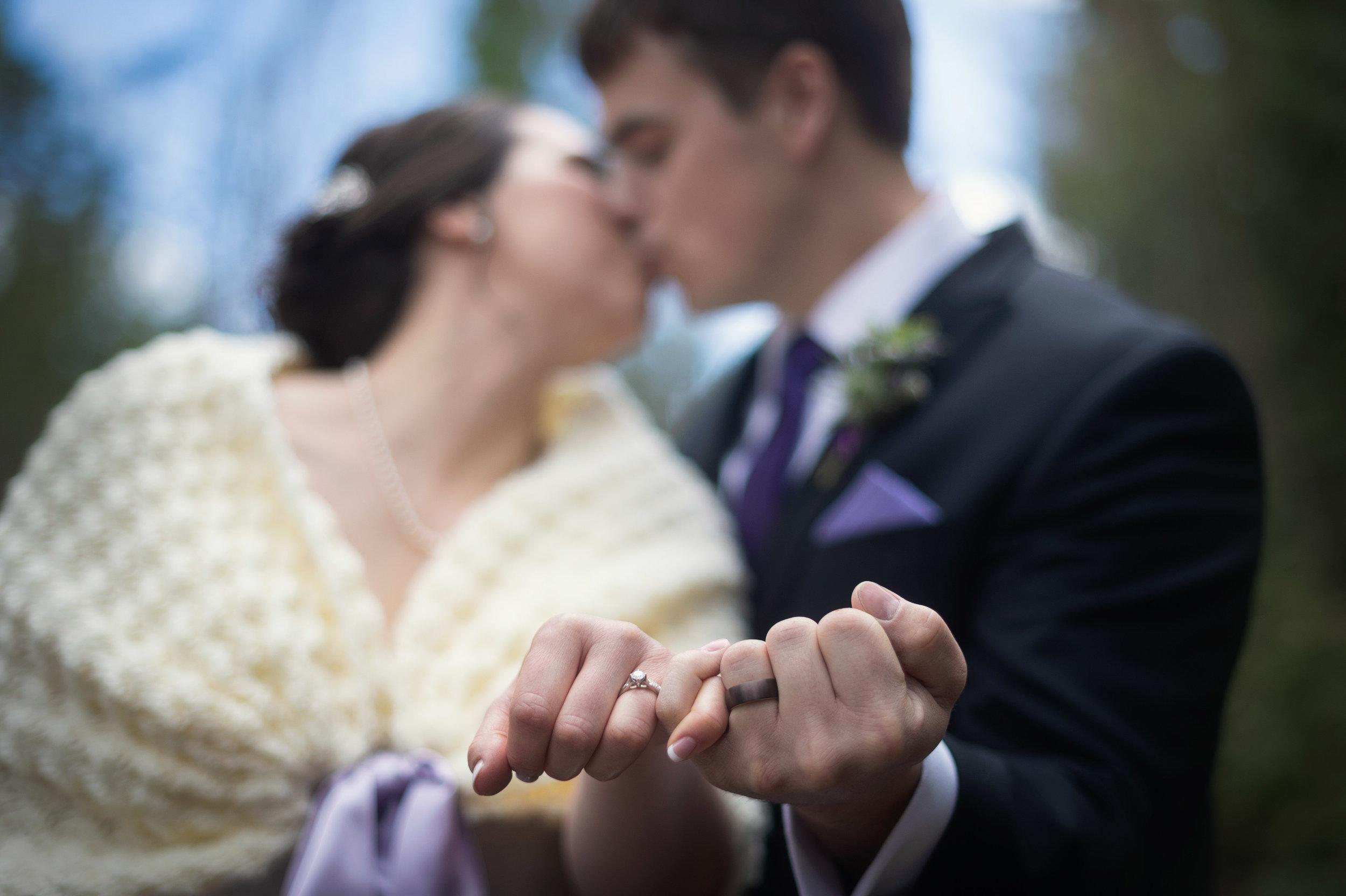 romantic lavender wedding British Columbia