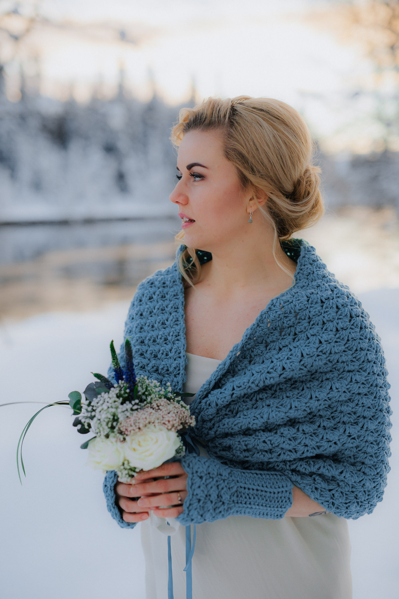 Wedding dress cover up knit capelet bridal shawl green sage,.jpg