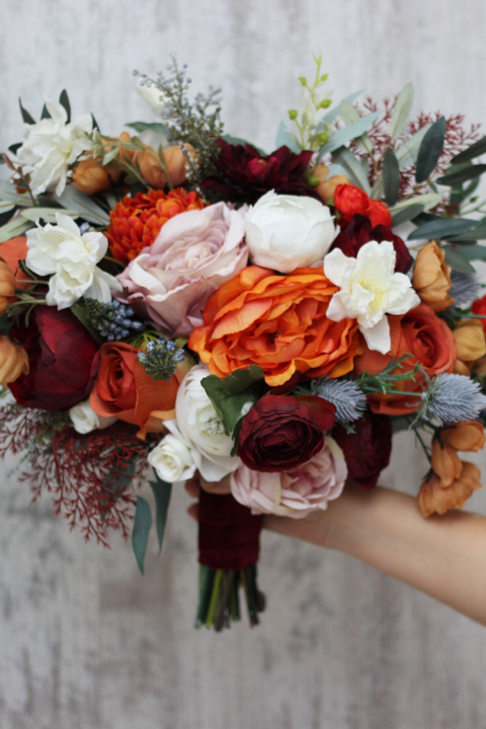 17 Bold And Beautiful Burnt Orange Bridal Bouquets Inspiration And Advice To Plan The Perfect Wedding