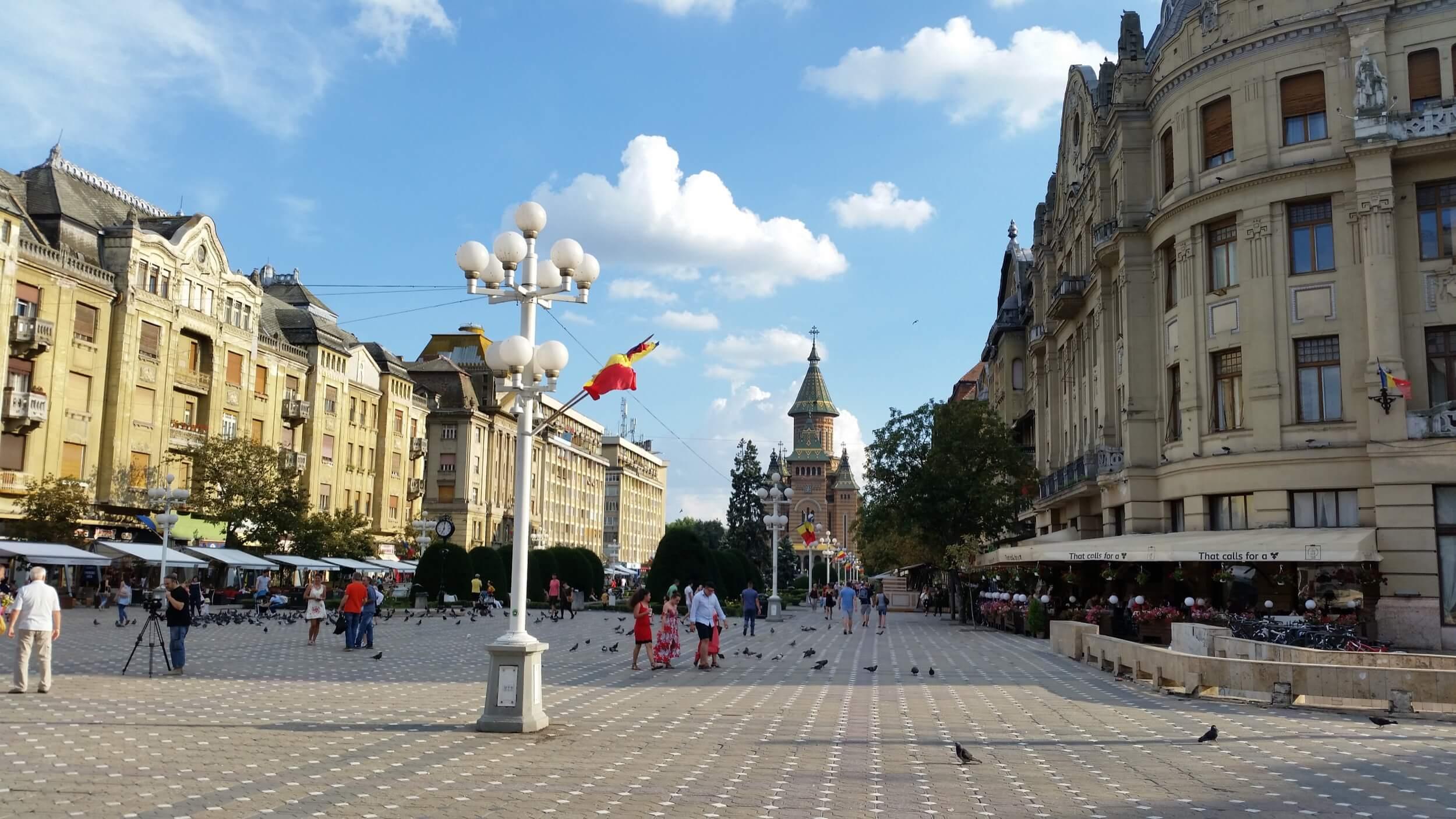 Platz der Revolution in Timisoara
