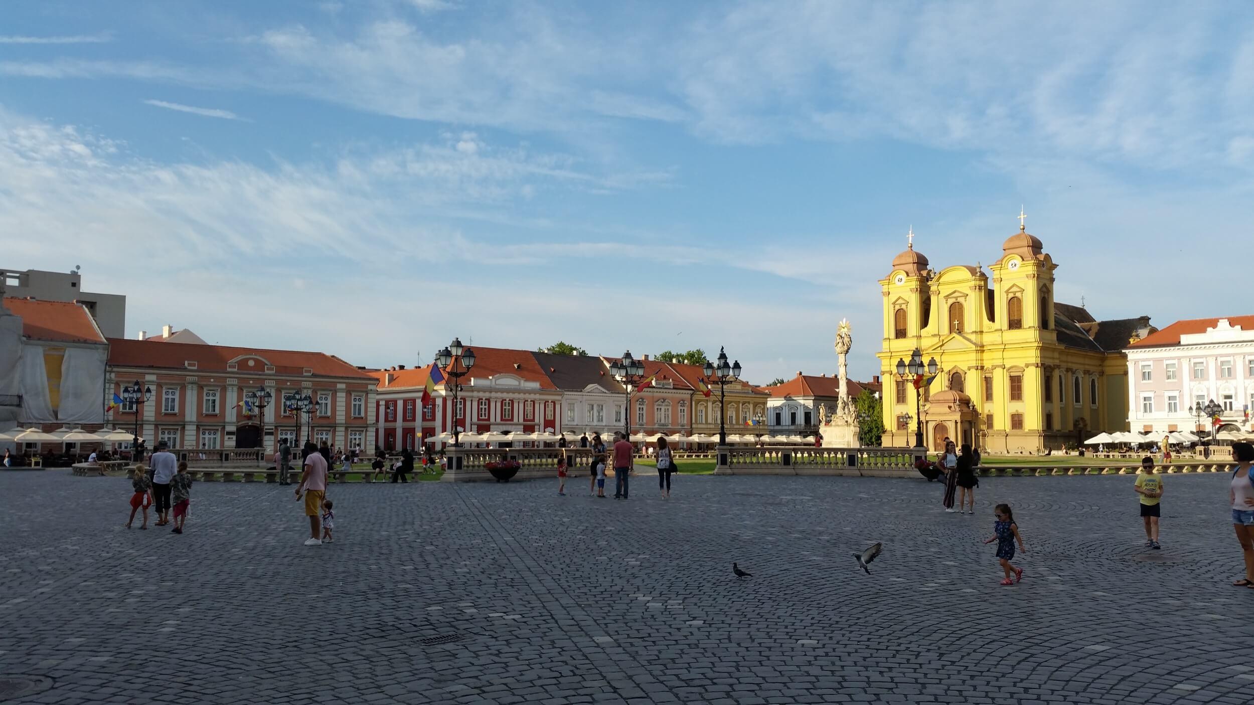 Domplatz in Timisoara