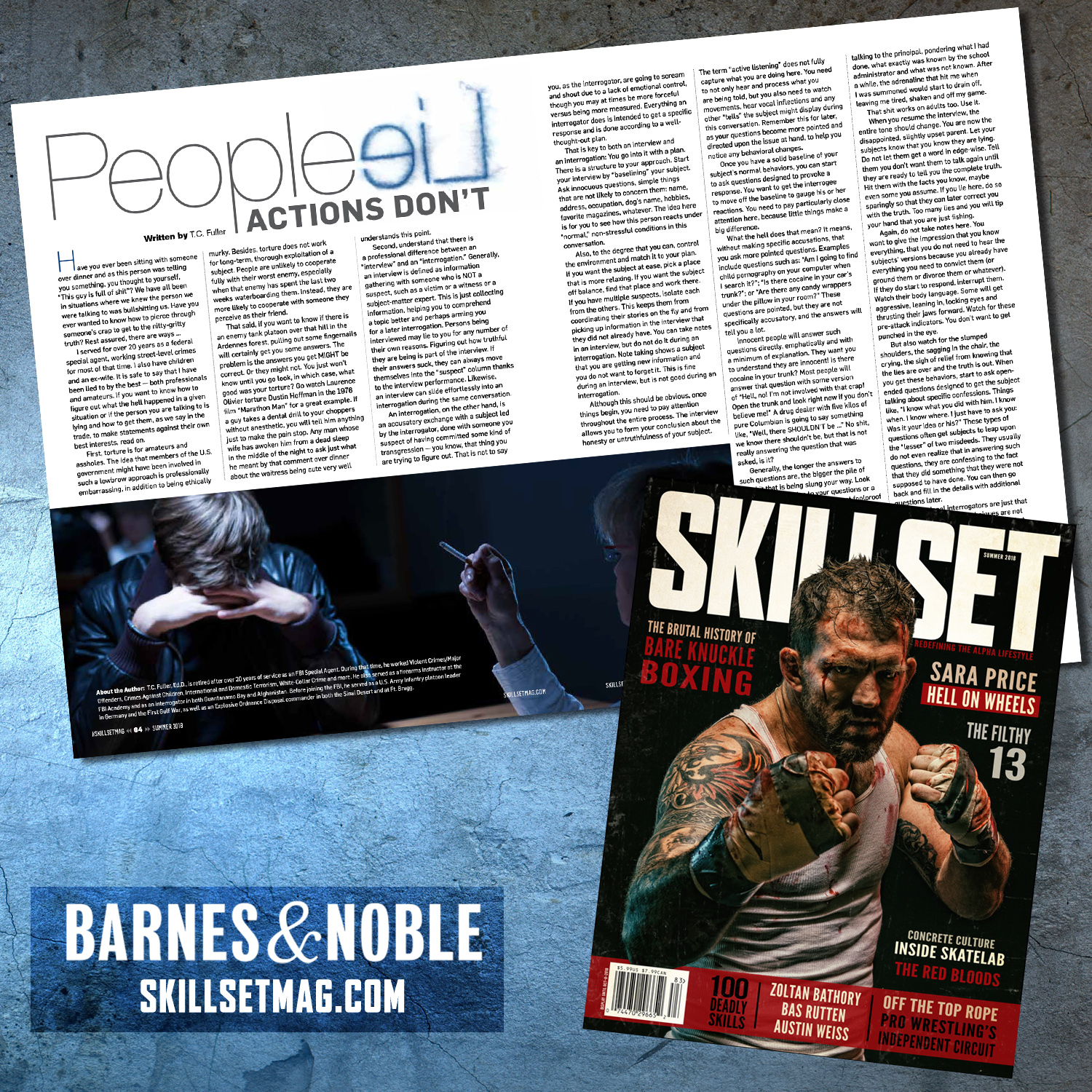 "Detecting Deception: The Use of Interrogation Techniques in Everyday Life - An article by Horus Group CEO T.C. Fuller, available in the Summer, 2018 issue of ""Skillset"" magazine."