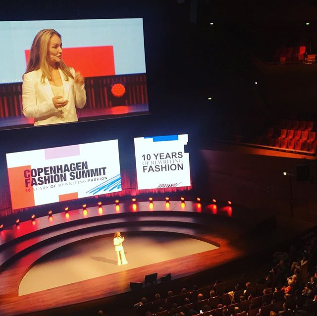 48 countries 450 countries 1300 people here, charged with the responsibility to lead the industry to do much better, much faster over the next decade. #copenhagenfashionsummit2019 #CPFS19 #makefashioncircular . #circulareconomy #sustainablefashion #circularfashion @globalfashionagenda @copenhagenfashionsummit