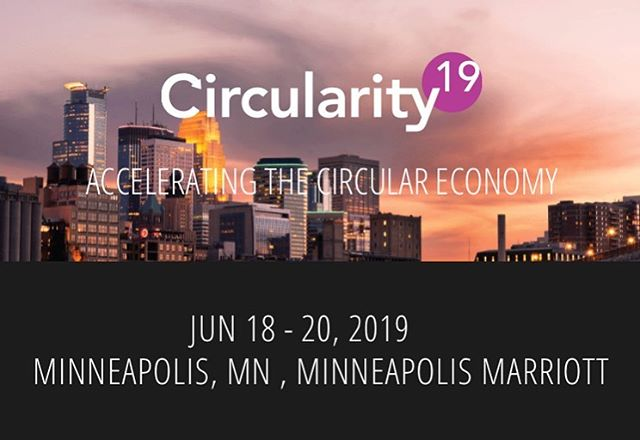 On my way to Circularity19 - who should I meet there? @strangelysuited and I will be recording quick takes with speakers & attendees for the @impactreportpodcast - send me your interviewee suggestions! @bardmba