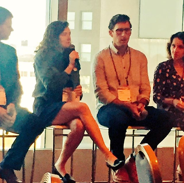 Cross-sector pollination is the real value of events like this - great to hear how RESALE is elevated in electronics, apparel, and gear with @BestBuy @renewalworkshop, @REI, @optoro #circularity19 . #circularfashion #circularity #circulareconomy #sustainablefashion #sustainablebusiness @bardmba
