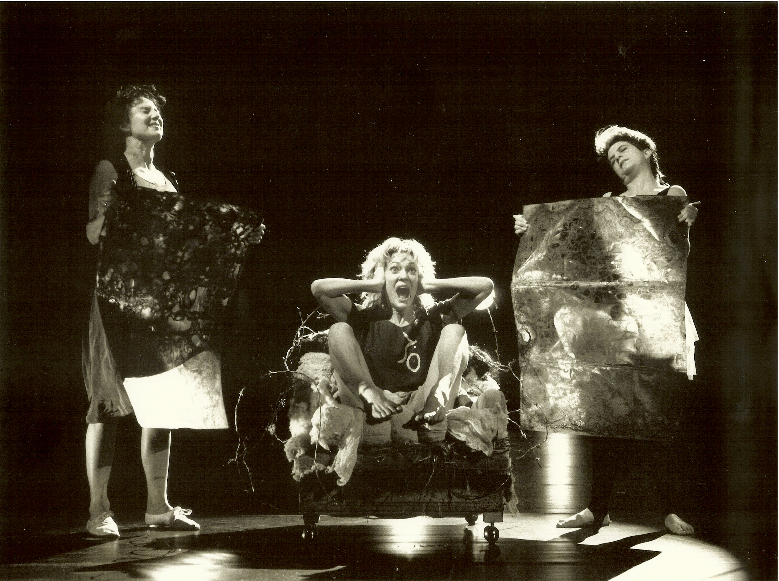 Sara, Brenda, Nina (1988). Marty Sohl.