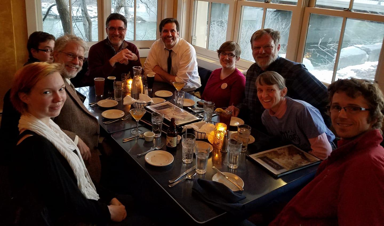 Eighth annual Mordorkian dinner at  Sarducci's