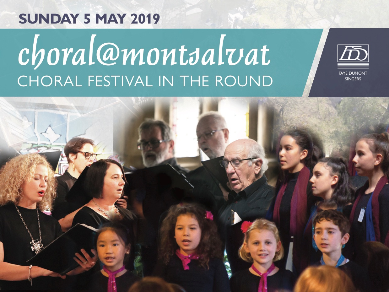 Choral@Montsalvat - SUNDAY 5TH MAY 2019