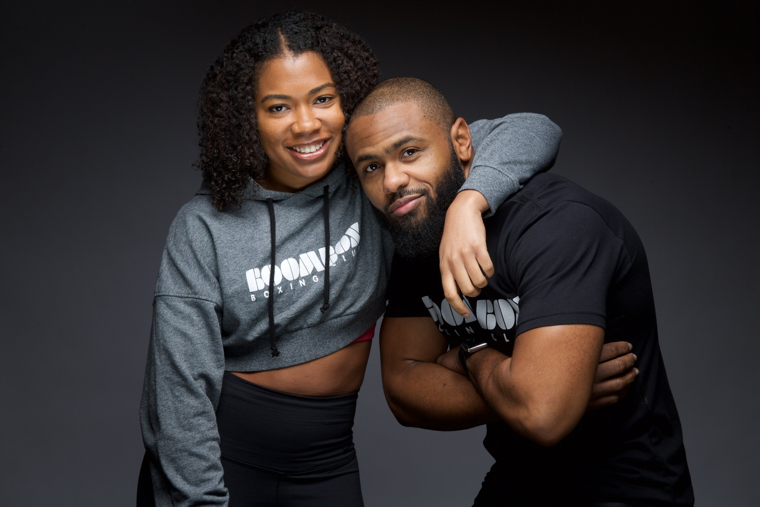 Reggie and Angela founded BOOMBOX on their love for boxing, music and community. Their goal is simple, to empower and inspire, while making the health benefits of boxing-inspired training accessible to all fitness levels and backgrounds. -