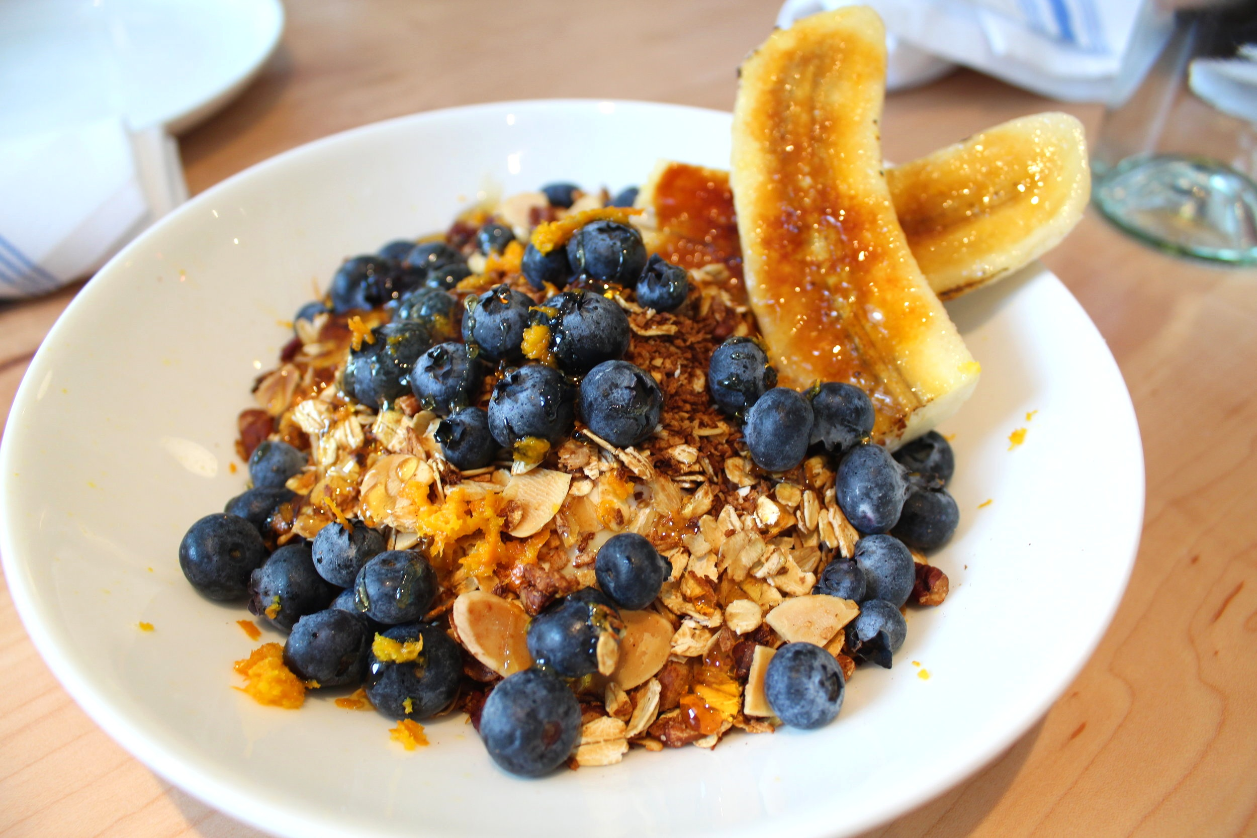 Muesli Breakfast Bowl  - Photo: Shelby Forsyth