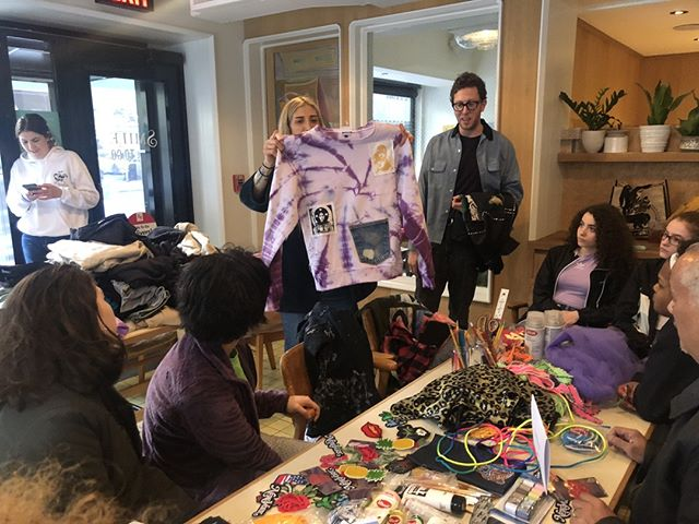 "Our teens recently got the chance to learn from fashion guru @LyzOlko! 😮 Read more about how she taught them to ""Refashion-Fashion"" here http://bit.ly/2vLzG38 #FosterPrideNYC⠀ ⠀ P.S. - have you RSVP'd to tonight's event? You won't want to miss it! 🎉http://bit.ly/fosterpride⠀ ⁣⠀ ⁣⠀ ⁣⠀ ⁣⠀ ⁣⠀ ⁣⠀ ⠀ ⁣⠀ ⁣⠀ ⁣⠀ #helpingyouthincrisis #fostercarecommunity #volunteernyc #givebacktothecommunity #socialactivist #fundraisingevent #creatingbrighterfutures #fosterlove #nonprofitlife #charitywork #dogoodfeelgood #donatetoday #fostercare #resumewriting #fundraising #causes #nonprofits #fostercaremonth #nationalfostercaremonth #drawdaily #nycnonprofit #nonprofitorganization #charityevent #charitychallenge #givingback #volunteerwork #fostercareawarenessmonth #unicorn ⠀"
