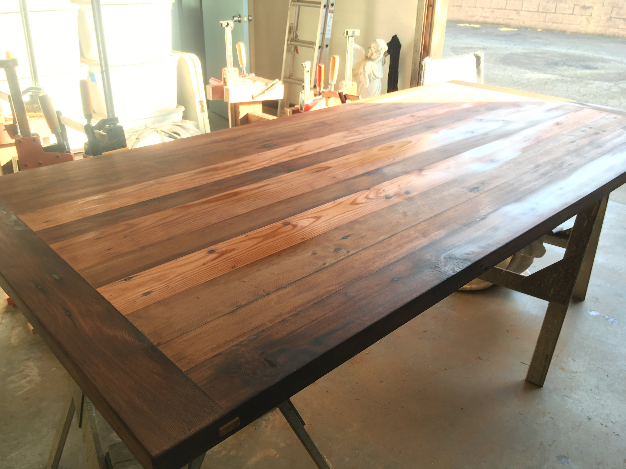 Finished tabletop