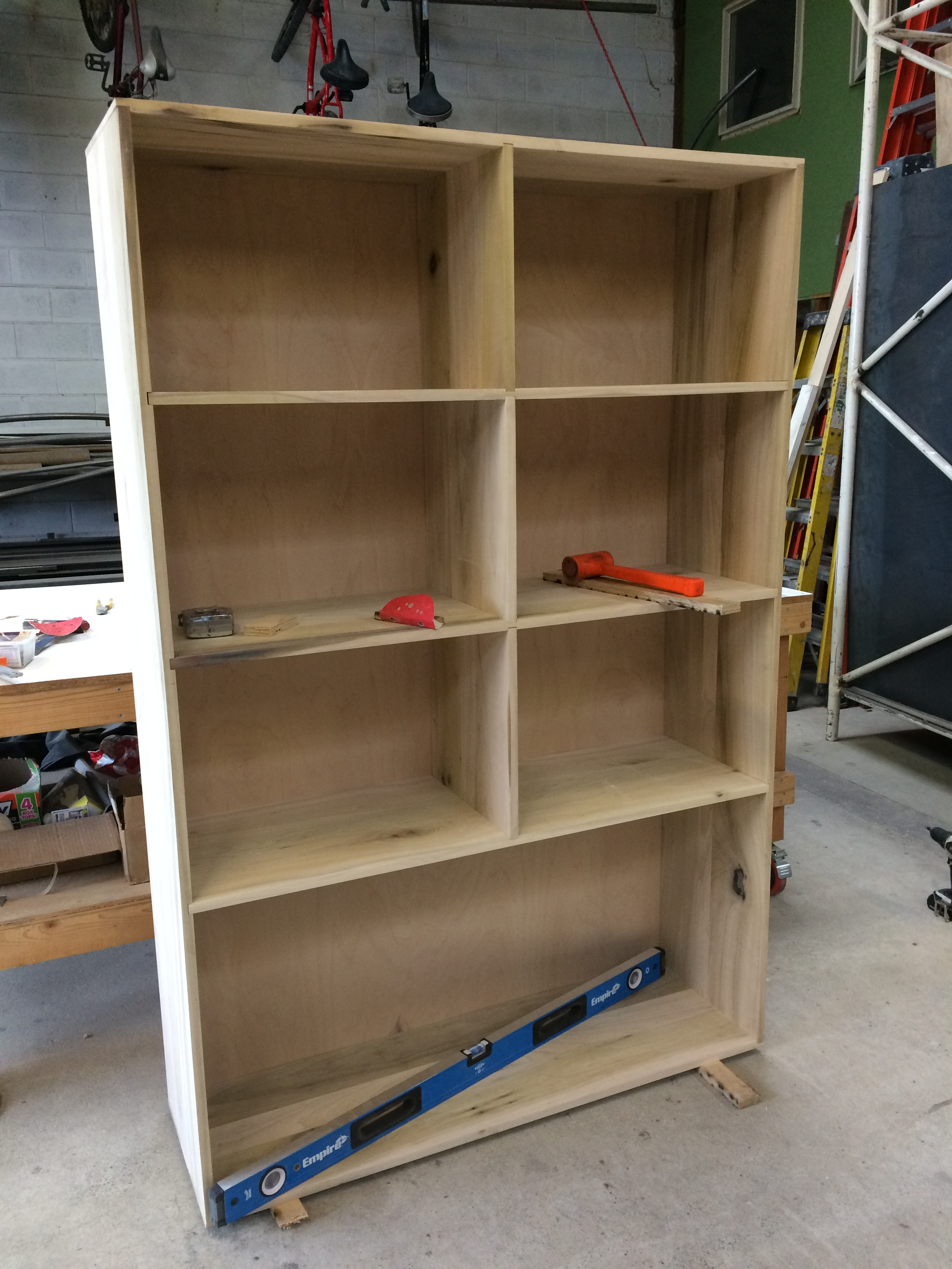 Dry fit with dividers