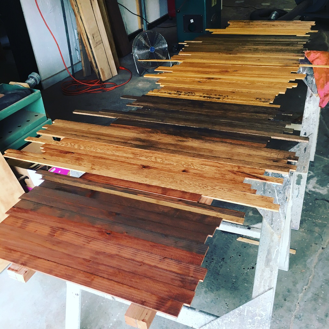 Staining day