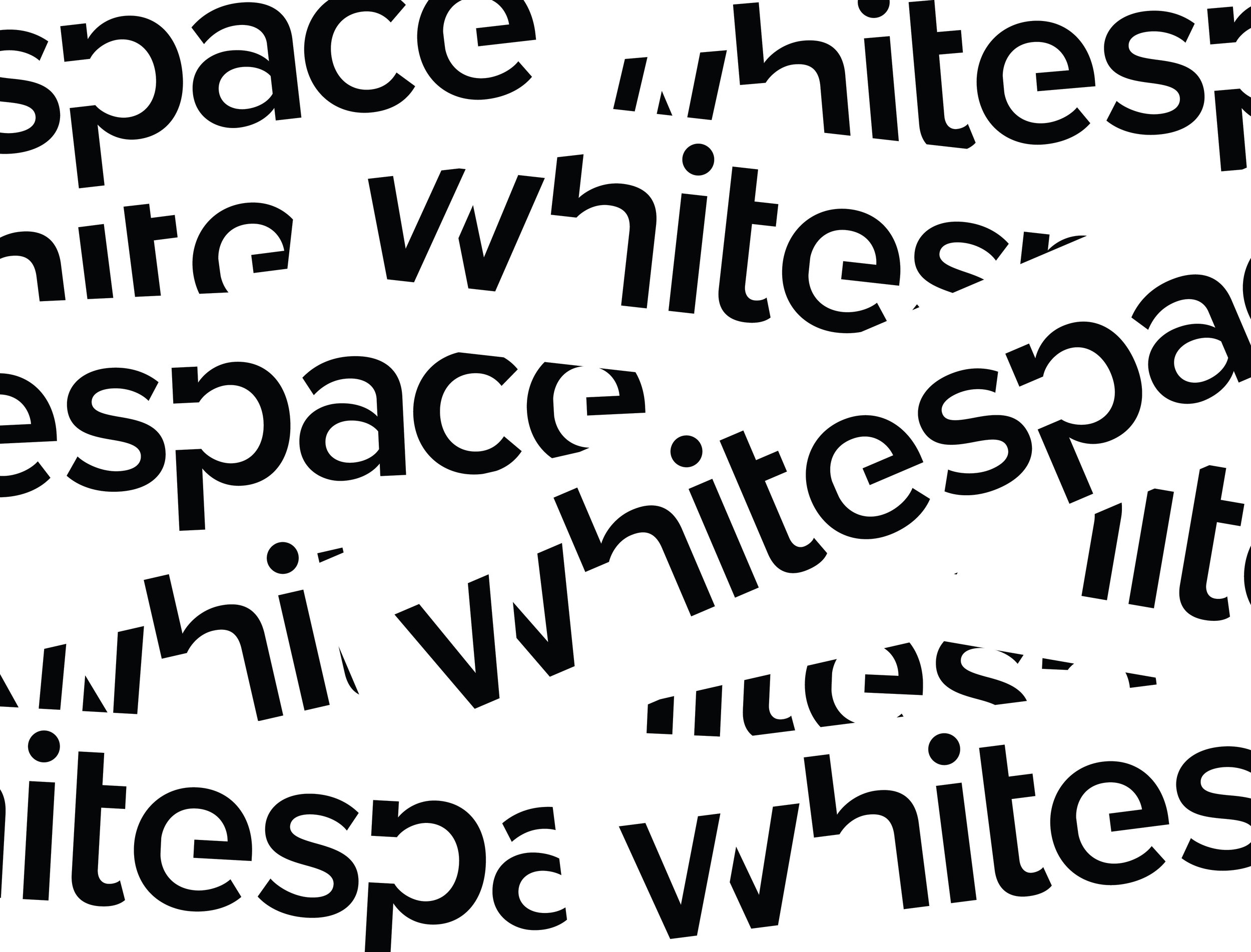 whitespace pattern
