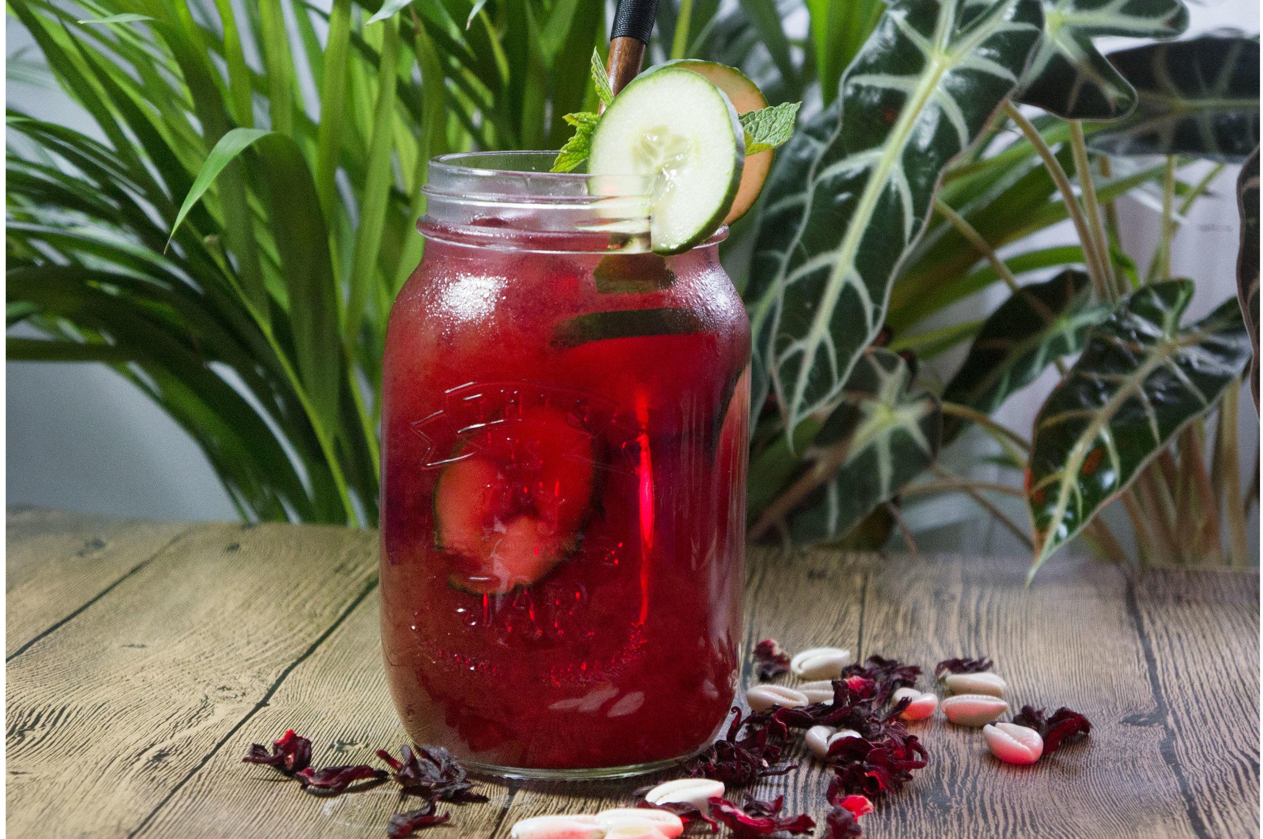 cocktail hibiscus secousse comptoir général
