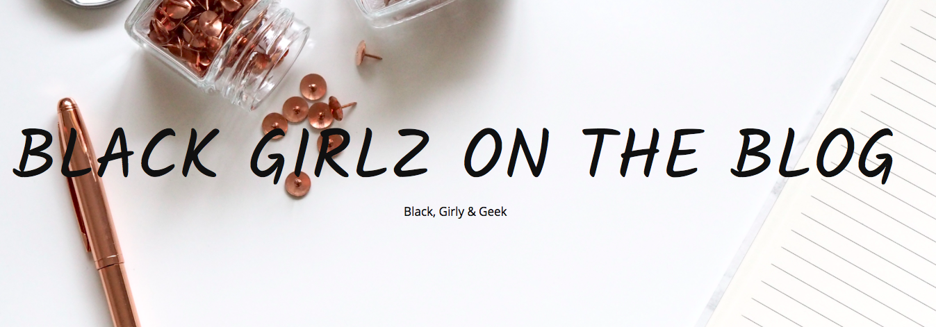 black girls on the blog