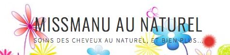 missmanu au naturel blog
