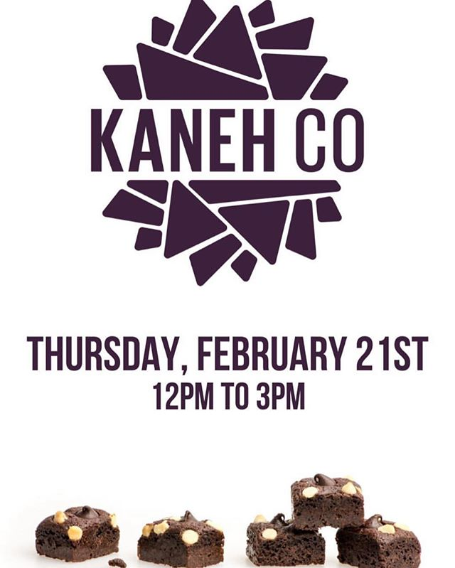 Patient/Customer appreciation day! From 12-3pm TODAY @ #TheShopWH @kanehcompany 🤤🤤🤤