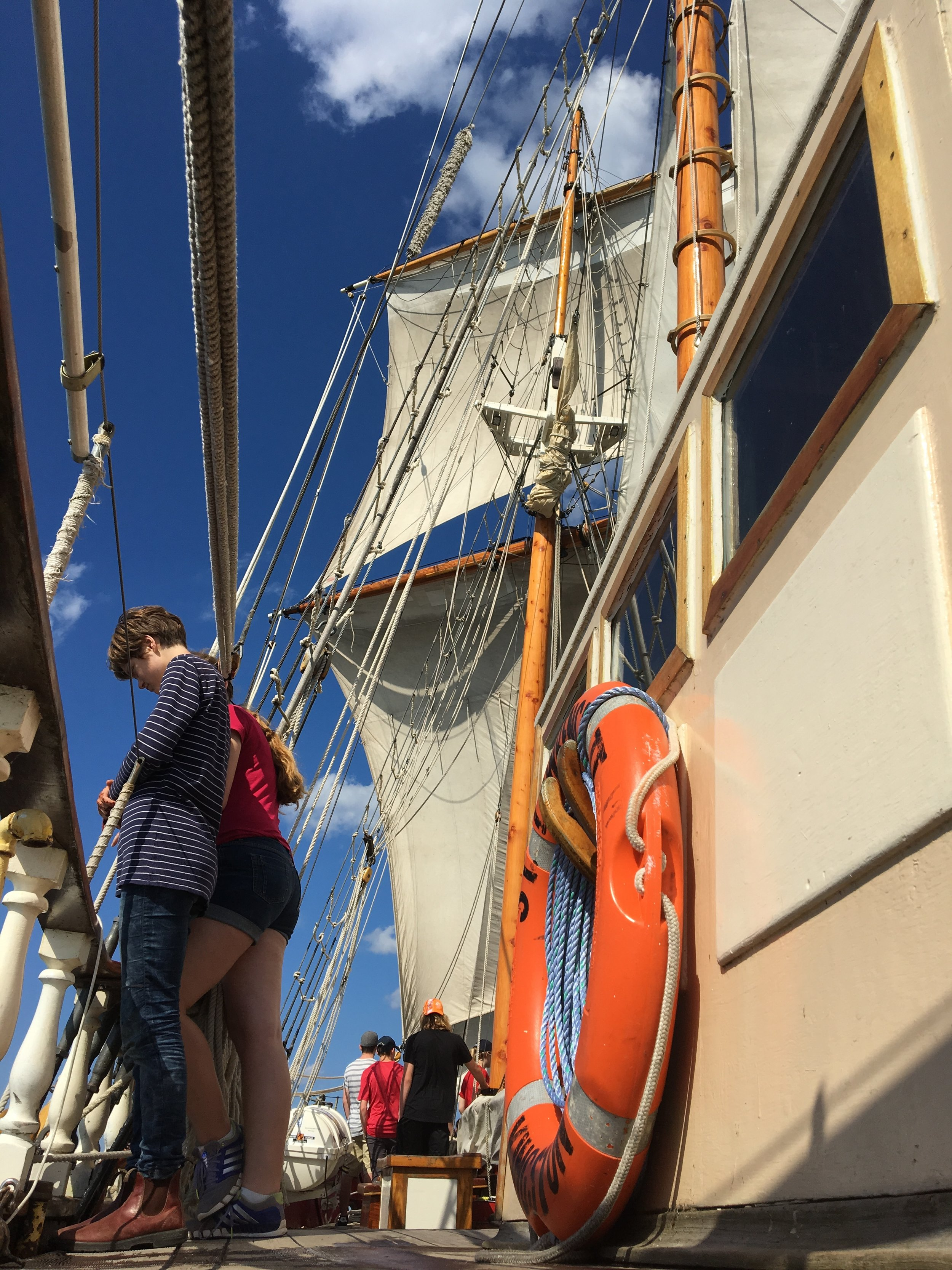 A Tall Ship summer camp for youth looking for adventure, fun, friendship, and to explore their world. -