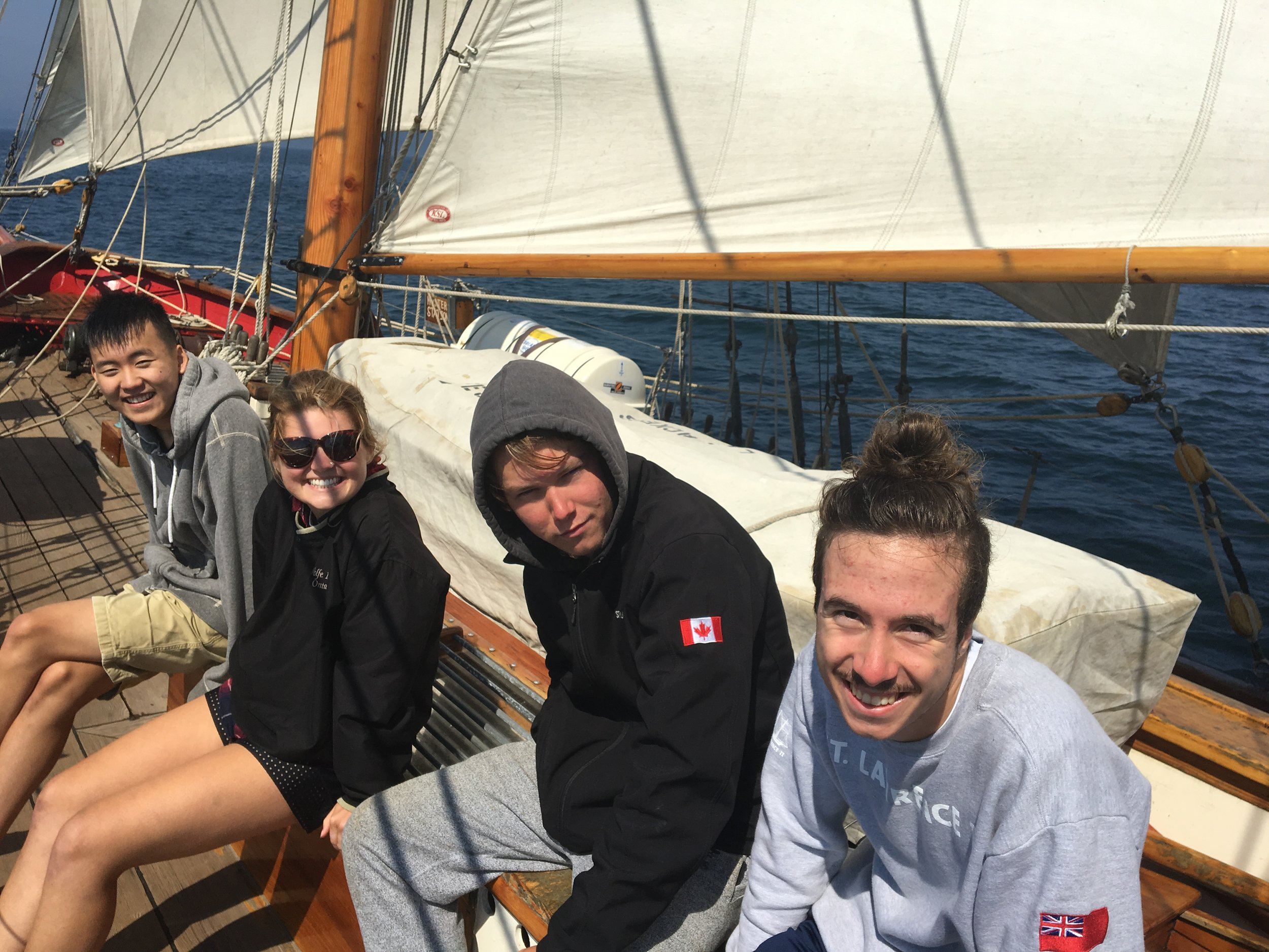 """The entire adventure was amazing, so it's hard to choose just one highlight, but a few that come to mind are how awesome it was when we put up the sails for the first time, the amazing scenery, and meeting the crew."" - - 2016 Trainee"