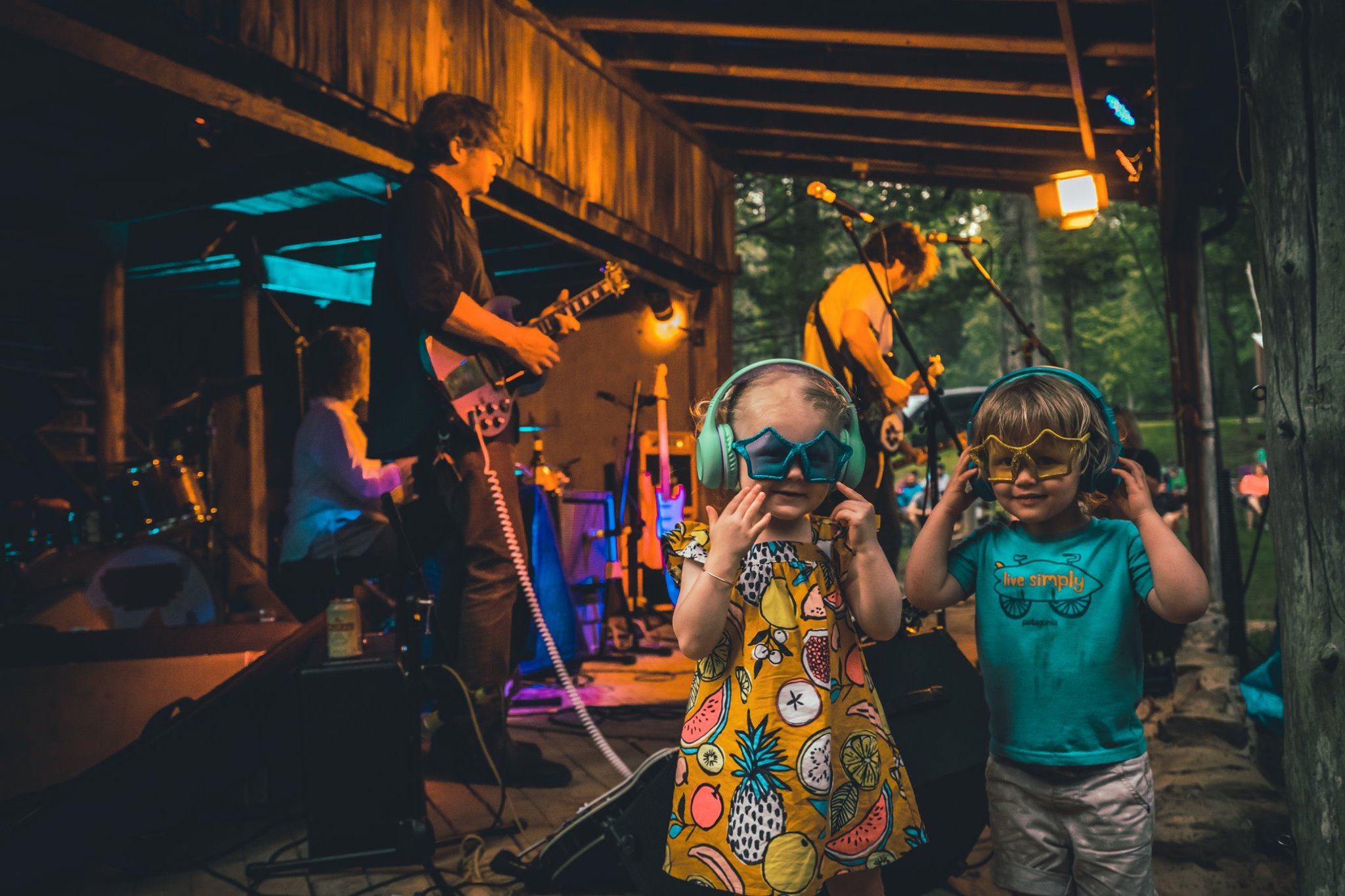Raising up the next generation of music fans!